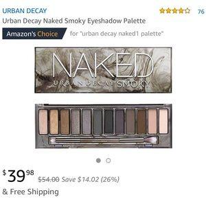 Urban decay Naked Smoky shadows